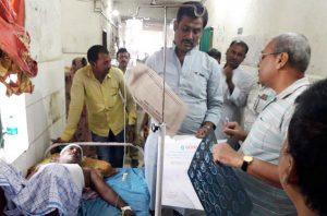 मीनापुर में कारोबारी को मारी गोली